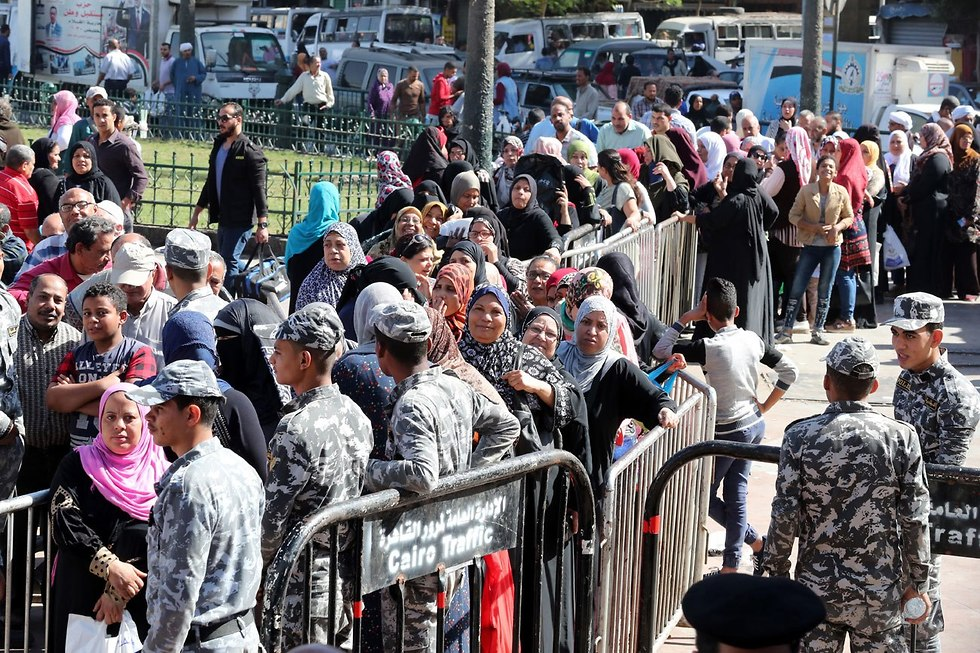מצרים מחסור ב תפוחי אדמה (צילום: EPA)