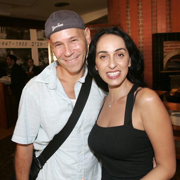 הוא גאון מוזיקלי. עם הבעל לשעבר רמי קלינשטיין | צילום: רפי דלויה