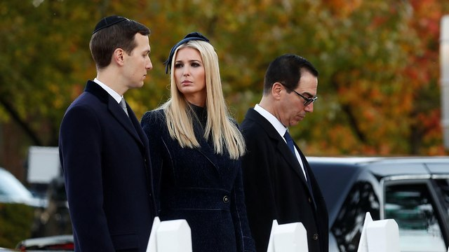 Jared Kushner(L) and Ivanka (Photo: Reuters)