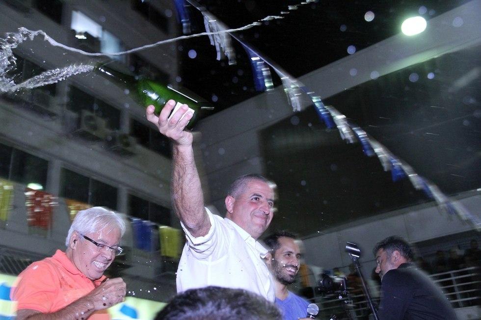 חגיגיות הניצחון של מרלי (צילום: זהר שחר)