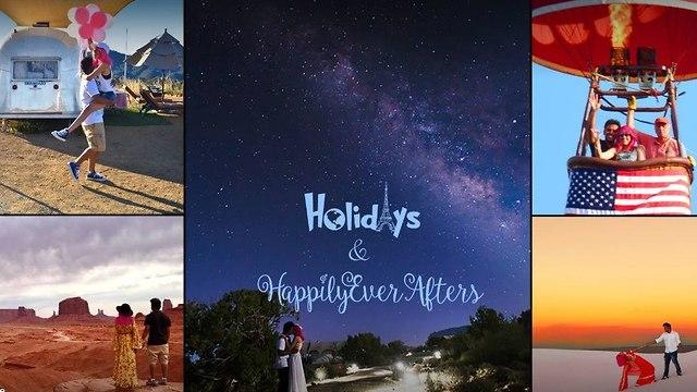 בני זוג שנפלו אל מותם בפארק יוסמיטי (צילום: facebook / Holidays & Happily Ever Afters)