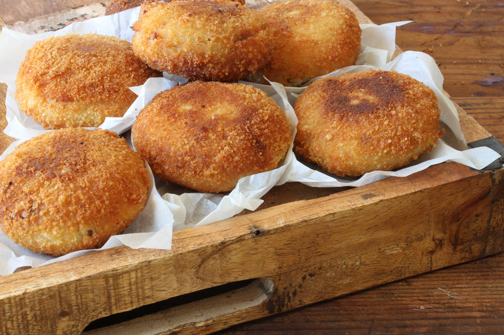 קובה תפוחי אדמה במילוי בשר ופטריות (צילום, סגנון והכנה: אסנת לסטר)
