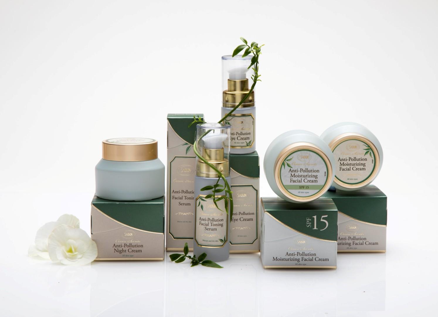 SABON - Anti-Pollution Skincare Collection (צילום: דן לב)