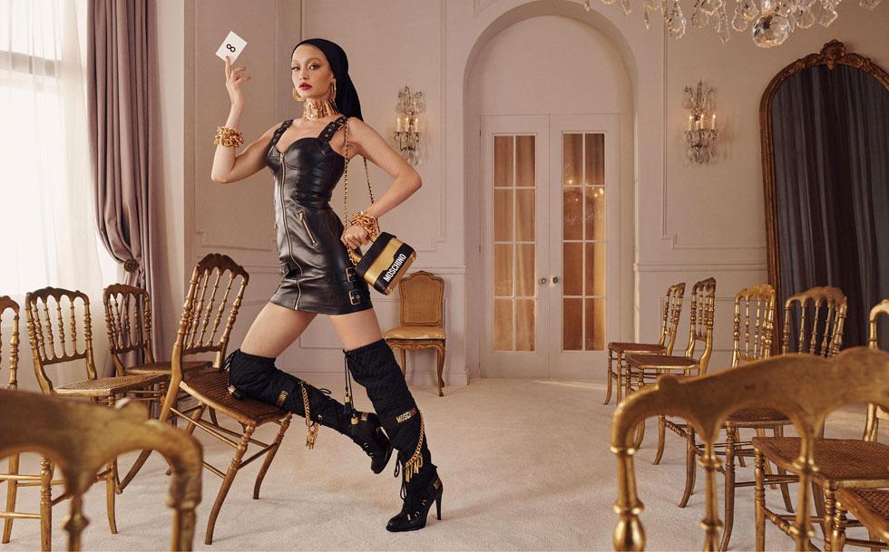 מוסקינו ל-H&M. עודפות אינה מילה גסה (צילום: הנס מוריץ)