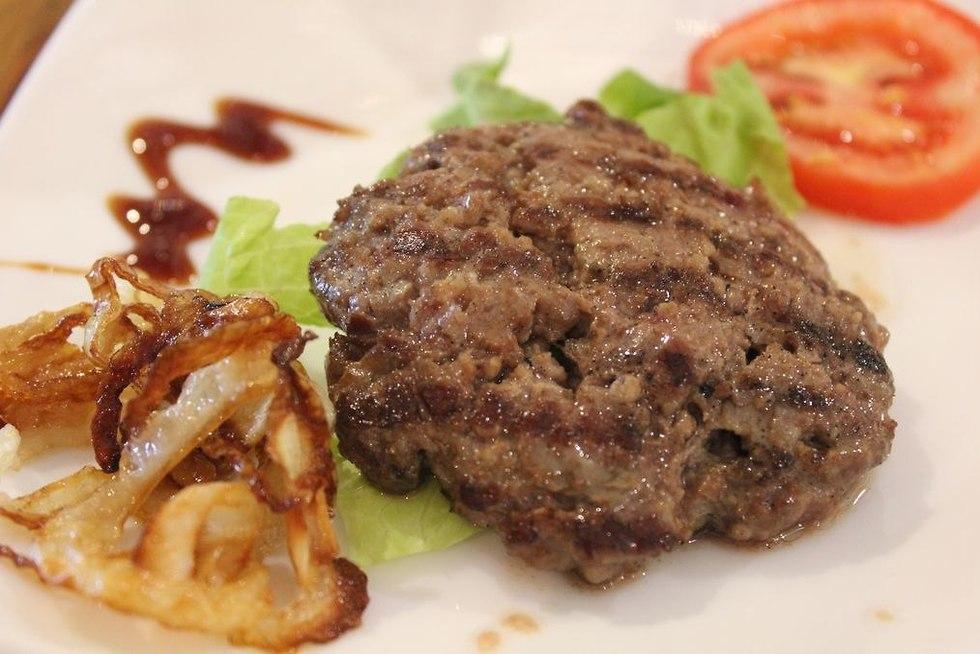 Gillis' hamburger (Photo: Esti Rotem)