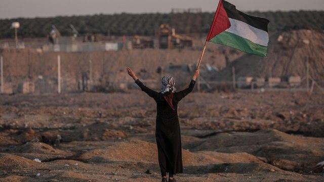 Clashes in Gaza in early November (Photo: EPA)