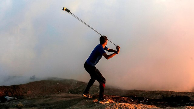 Clashes in Gaza in early November (Photo: AFP)