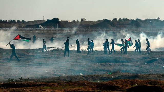 У границы сектора Газы. Фото: AFP