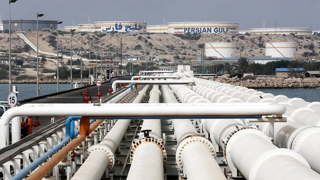 Iranian oil refinery (Photo: EPA)