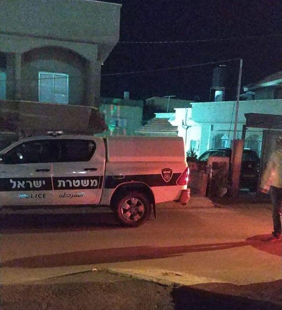 זירת אירוע הירי בכפר ג'ת ()