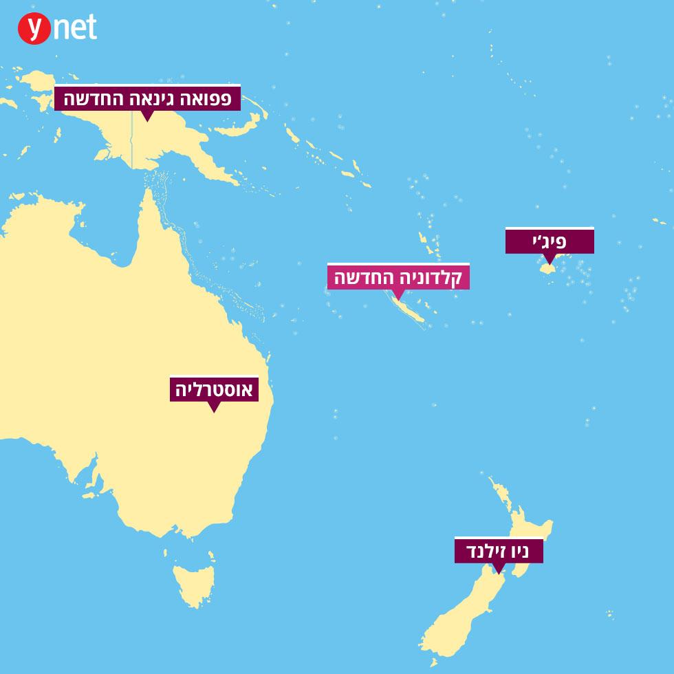 מפה קלדוניה החדשה ()
