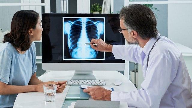 סרטן ריאה (צילום: shutterstock)