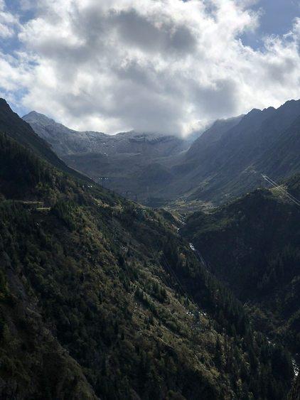 הנוף מההרים הקרפטים (צילום: אמיר סולומון)