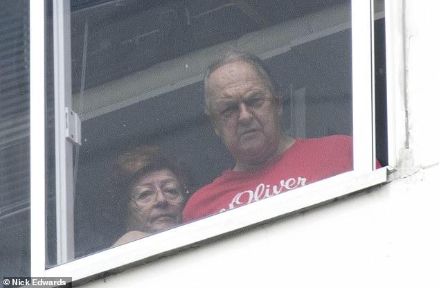 Dieter avec sa femme Martha (Photo: The Daily Mail)