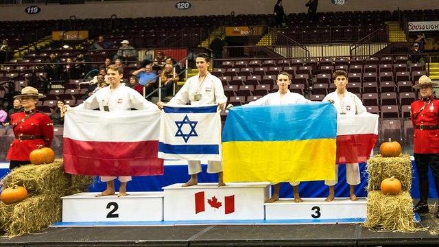 גילעד רוקח - אליפות העולם בקראטה ()