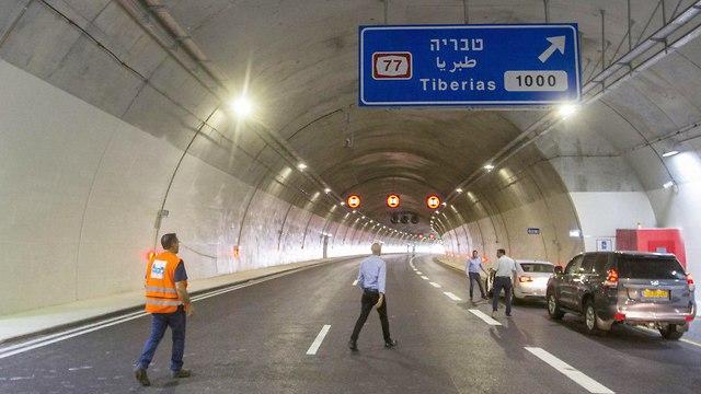 כביש 6 חדש לצפון (צילום: עידו ארז)