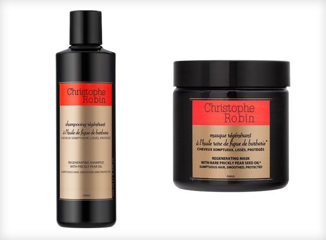 לשיער זוהר ובוהק: שמפו ומסיכה משקמת של כריסטוף רובן (צילום: אפריל)