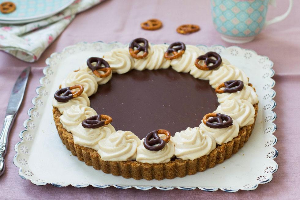 פאי שוקולד, בייגלה וחמאת בוטנים (צילום: דור משה)