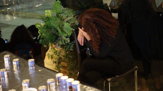טקס הזיכרון השנתי לציון הרוגי תאונות הדרכים  (צילום: מוטי קמחי)