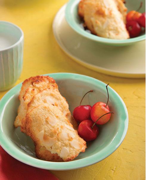 עוגיות קוקוס פריכות (צילום וסטיילינג: שושי סירקיס)