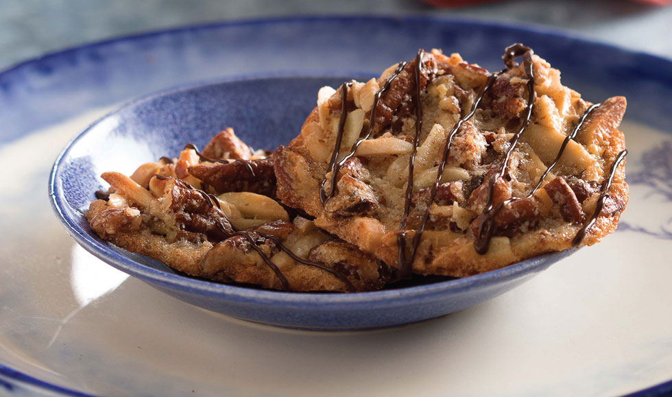 עוגיות פקאנים ושקדים (צילום וסטיילינג: שושי סירקיס)