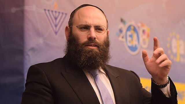 Le leader juif Rabbi Menachem Margolin, président de l'EJA. (Photo: Yoni Rikner)