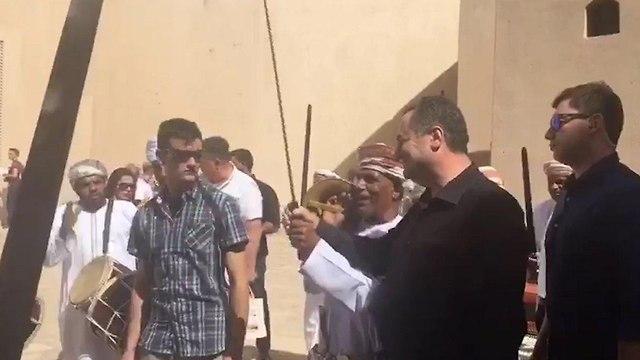 Ministro Yisrael Katz en Omán