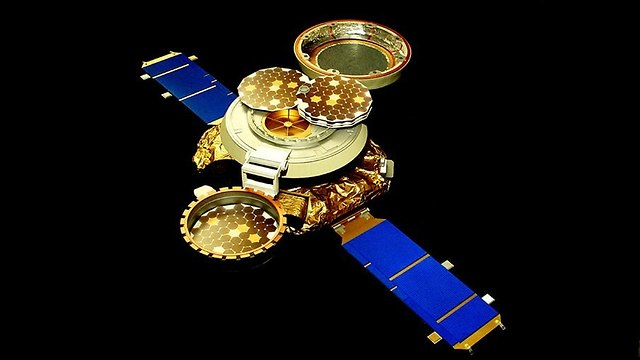 הדמיה של החללית, שבה היה הקפסולה (צילום: נאס