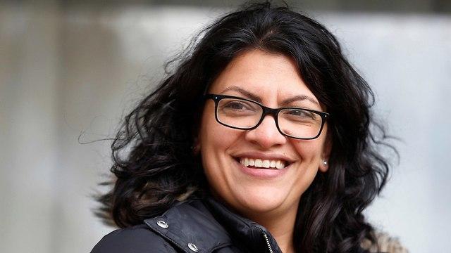 רשידה טליב אמריקנית פלטסינית חברת קונגרס ראשונה ממוצא פלסטיני ארה