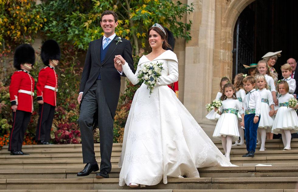 החתן:  איש עסקים בתחום האלכוהול  (צילום: Victoria Jones/GettyimagesIL)