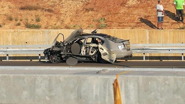 Scene of assasination on Coastal Highway