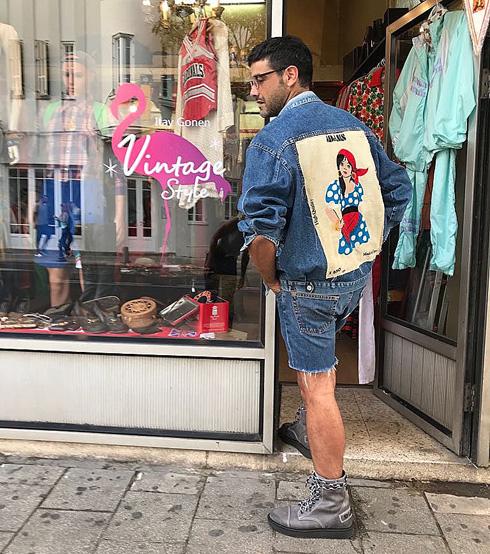 """""""לאנשים נמאס ללבוש בגדים מרשתות אופנה והם מחפשים ליצור לעצמם מראה אינדיבידואלי"""". איתי גונן"""