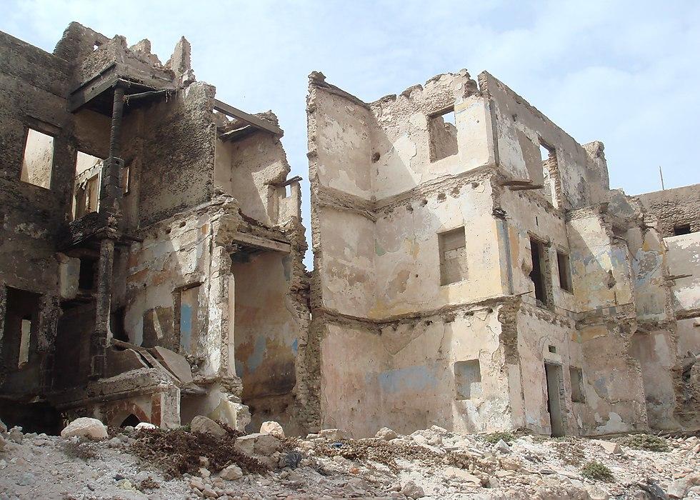 מה שנותר מהמלאח - הרובע היהודי העתיק של העיר (צילום: ויקיפדיה)