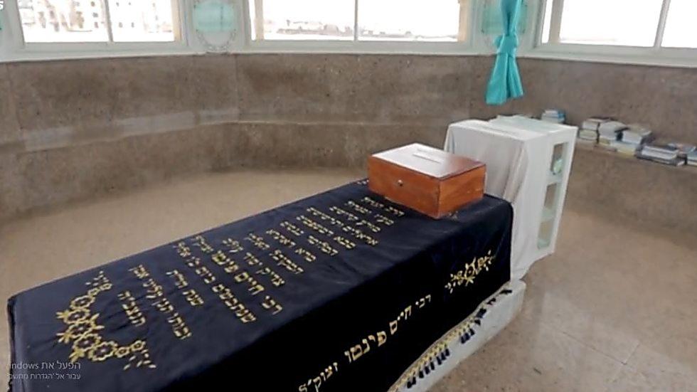 קברו של רבי חיים פינטו ()