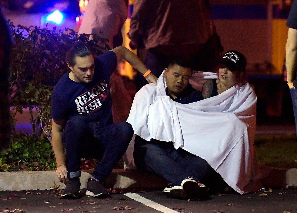 פיגוע המוני ירי קליפורניה ארצות הברית (צילום: AP)