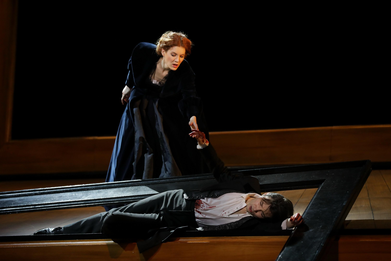 """Сцена из оперы """"Вертер"""". Фото: пресс-служба Израильской оперы"""