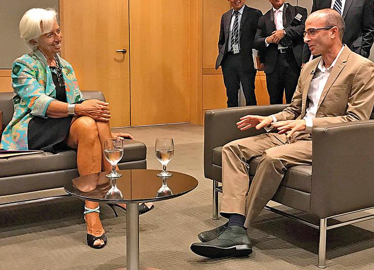 """בפגישה עם יו""""ר קרן המטבע הבינלאומית כריסטין לגארד"""
