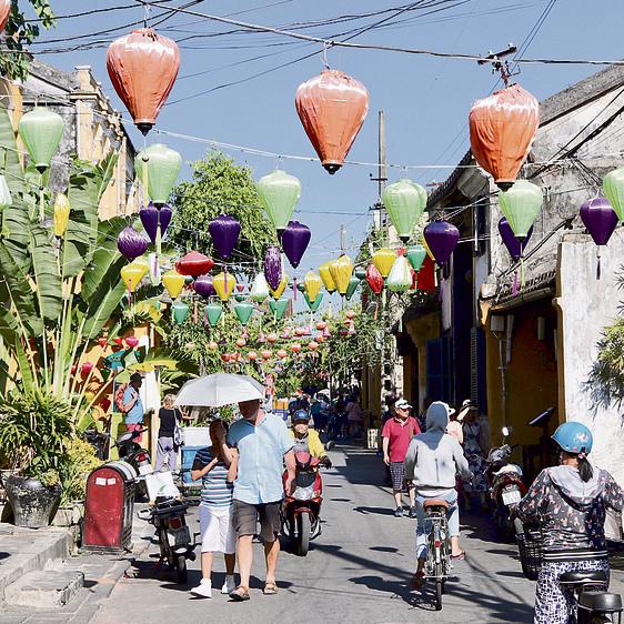 רחוב ב-Hoi An