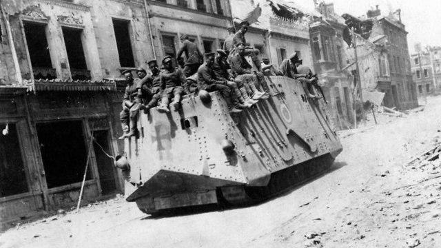 טנק גרמני (צילום: מתוך ויקיפדיה)