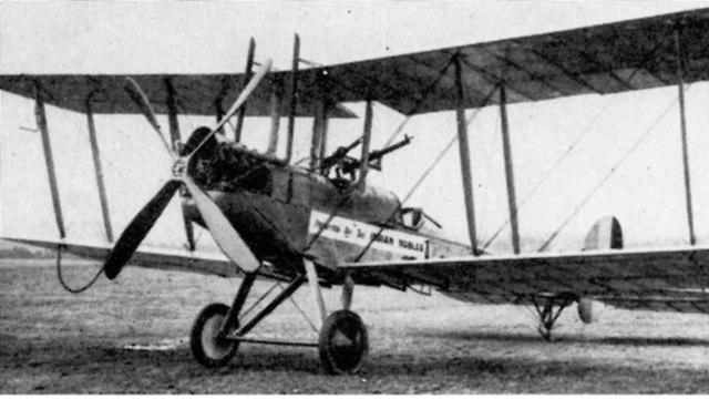 מטוס גרמני על הקרקע (צילום: מתוך ויקיפדיה)