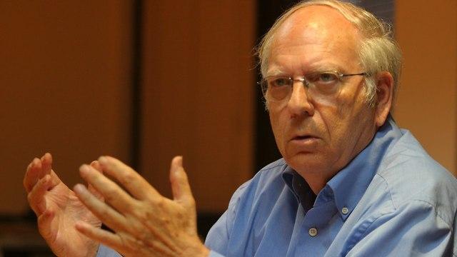 Efraim Halevy (Photo: Gilad K.)