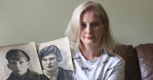 Алина из Реховота просит воров вернуть фотографии родственников - жертв Холокоста