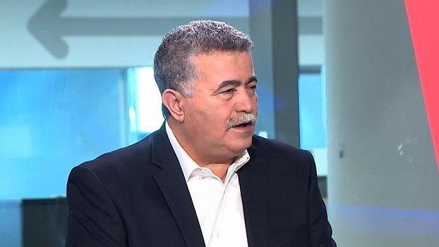 עמיר פרץ באולפן ynet (צילום: חגי דקל)