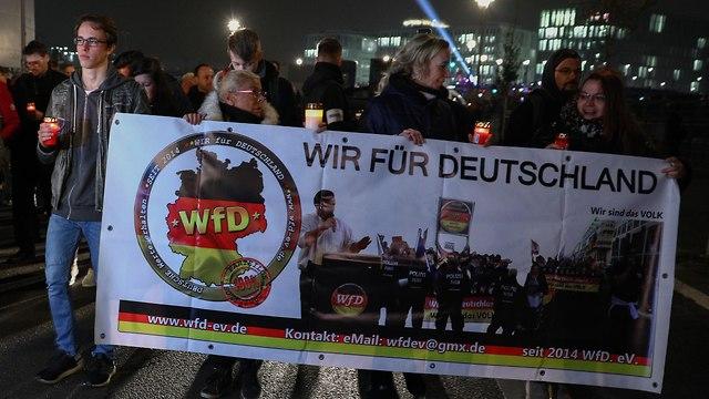WfD march in Berlin on November 9 (Photo: EPA)