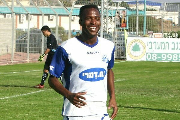 שיחק גם בליגה הלאומית. עאטף אבו בילאל (צילום: שי מוגילבסקי)