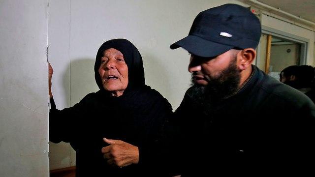 Nour Baraka's mother (Photo: AFP)