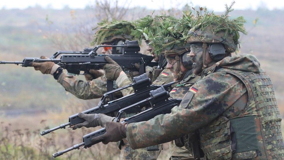 German Bundeswehr land operation exercise (file photo) (Photo: EPA)