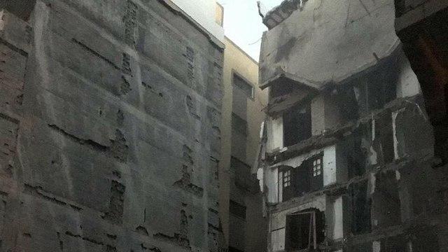 IAF destroys building in Gaza (Photo: IDF Spokesperson's Unit)