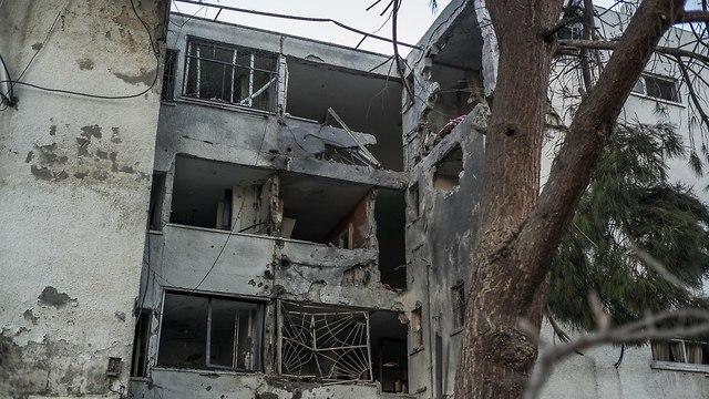 Пострадавший дом в Ашкелоне. Фото: MCT (Photo: MCT)