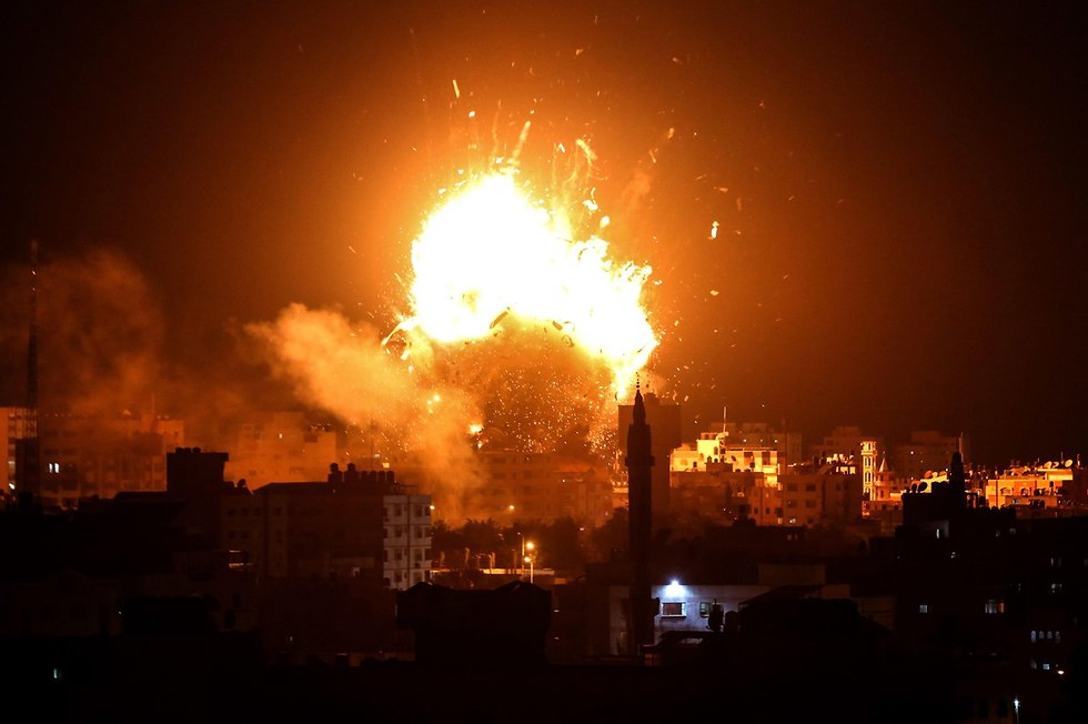 IAF strikes in Gaza (Photo: AFP)